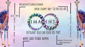 Imagine Beach Bar Ibiza